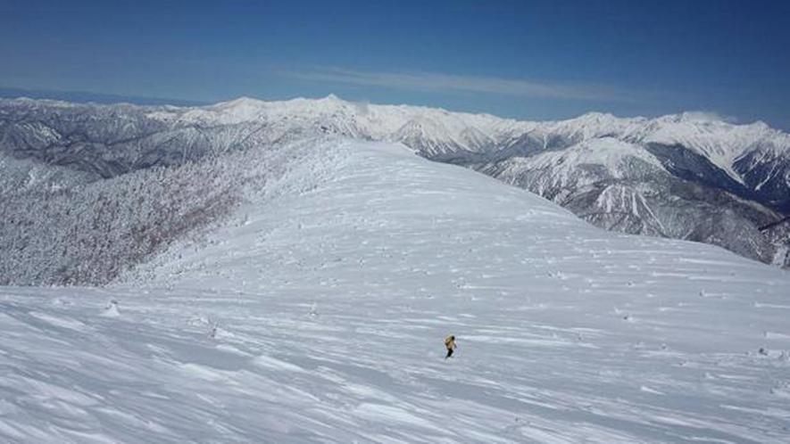 *乗鞍岳からの景色