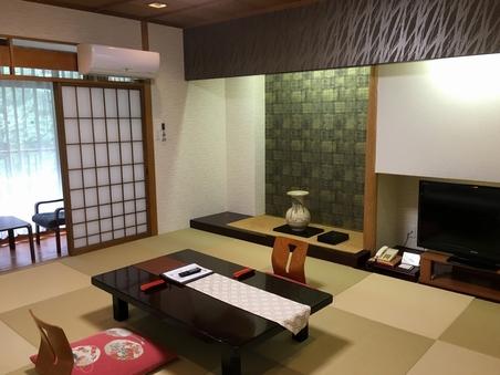 【禁煙和洋特室】川側2間モダン和洋特別室