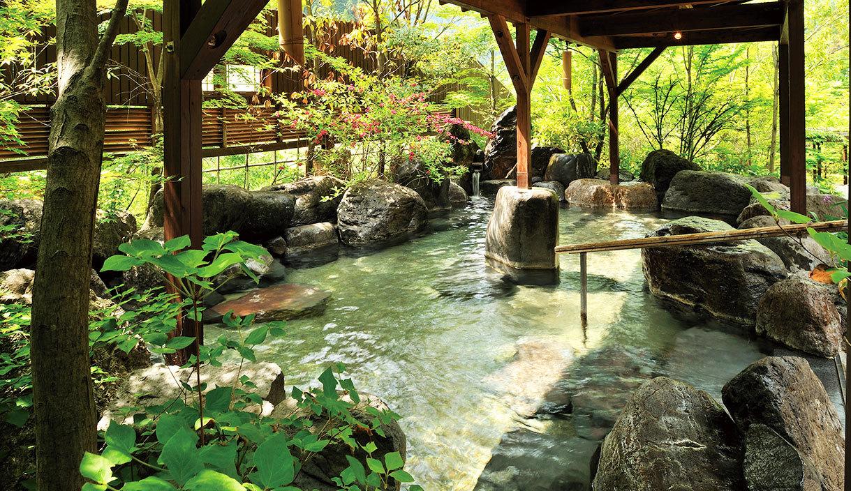 吉祥の湯 岩風呂