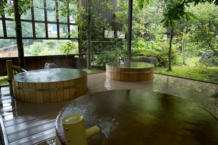【吉祥の湯】桶風呂