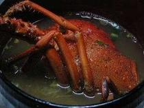 伊勢海老は刺身で食べた後朝食に味噌汁で美味しくいただけます