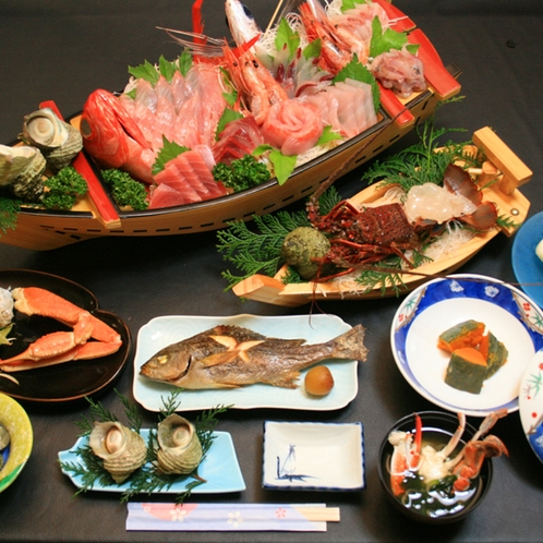 料理全体_伊勢海老祭りデラックスコース600