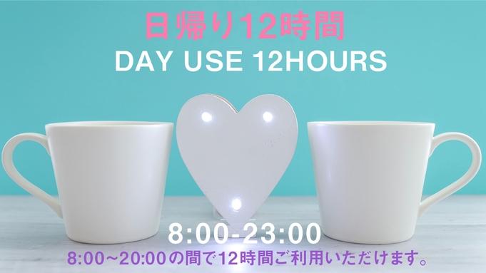 【日帰り12時間限定/2名様利用】【カップル】デイユース・テレワークプラン