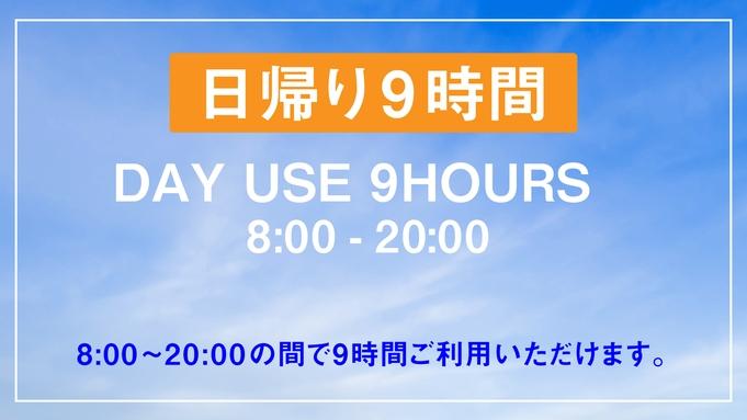 【日帰り9時間限定/1名様利用】 デイユース・テレワークプラン【VOD付き】