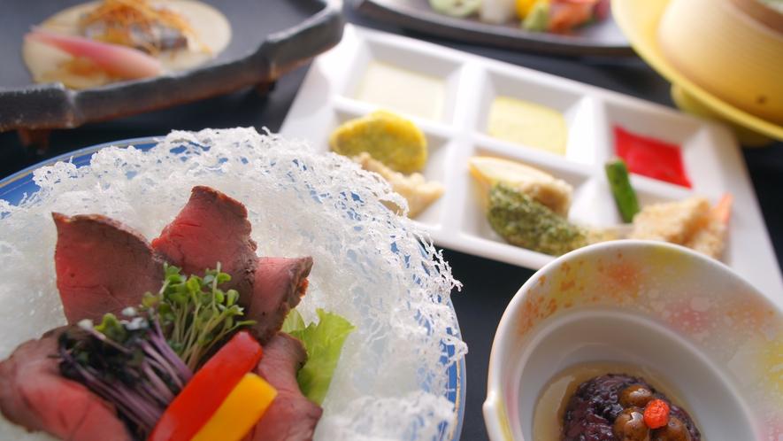 調理長北村貴久が創り出す料理は、一味も二味も違う特別なもの。