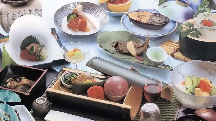 季節の料理【夏】(イメージ)