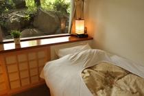 洋室は景色は楽しめませんが、利便性とお得な料金で人気。