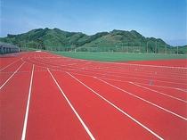 【藤枝市総合運動公園】 サッカー、陸上、野球、グランドゴルフなどが楽しめます。