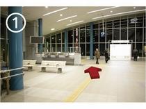 【JR藤枝駅からのご案内】エスカレーターへ①