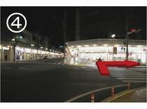【JR藤枝駅からのご案内】セブンイレブン交差点④