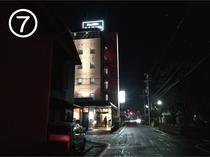 【JR藤枝駅からのご案内】ホテルへ⑦