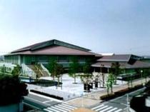 【静岡県武道館】 静岡県武道館までは徒歩10分。