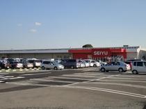 【西友南新屋店】 最寄りのスーパー・西友。 24時間営業。 徒歩10分。