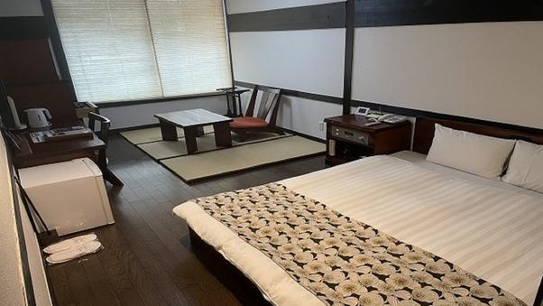 【禁煙】ダブル(28平米/ベッド幅160cm)