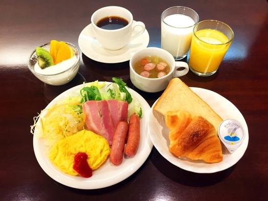 ★4階禁煙シングル 朝からしっかり食べようプラン 6時30分から
