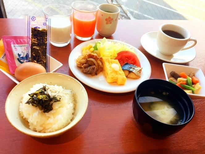 朝食バイキング 和食イメージ写真
