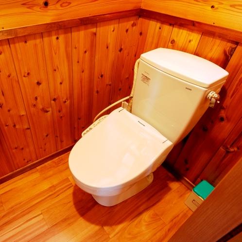 コテージクリ トイレ