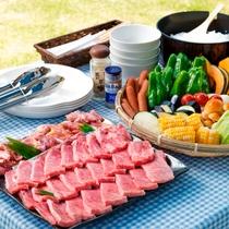 グリーンシーズンの信州プレミアム牛BBQセット