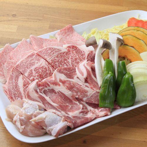 お肉もお野菜もタップリ☆