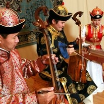 馬頭琴の演奏