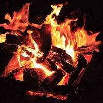 テンゲルの新名物〜焚き火⑥