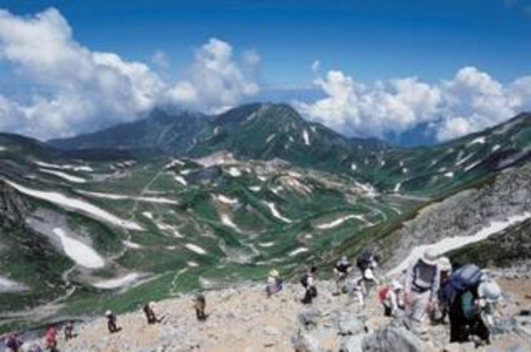 立山登山(夏)