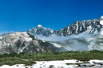 天狗平から見た剣岳
