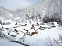五箇山(冬)