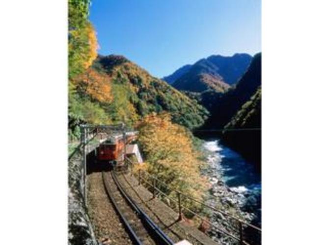 黒部峡谷鉄道(秋)