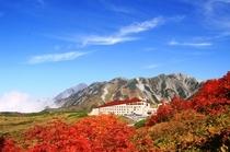ホテル立山外観(秋)