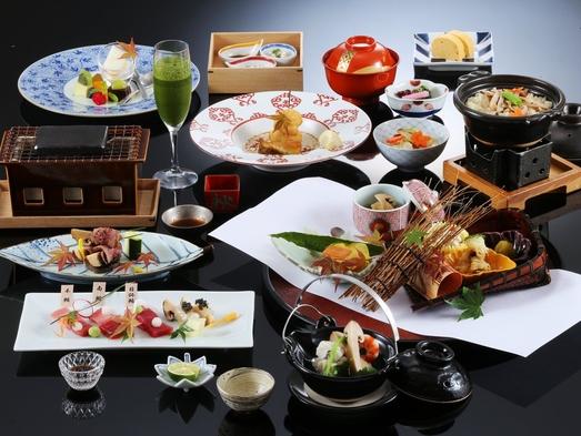 【日帰り】松茸料理が6品も入った贅沢ランチ 旬菜時記 松茸尽くしコース ダイニング時分時