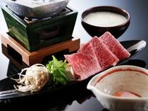 黒毛和牛とろろすき鍋