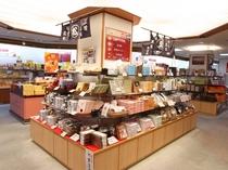【売店】有馬のものは勿論、神戸のものや、有馬の近郊のもの等、地域を限定せず幅広い品揃えをしております