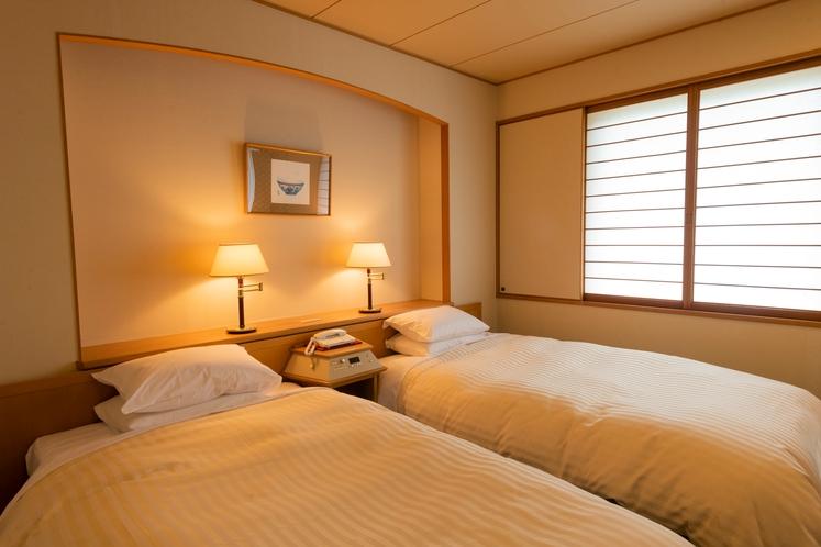 【北館:和洋室】和室と洋室の間は、壁で仕切られており2世帯3世帯でお越しの方におすすめです
