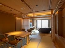 【別墅 結楽|大空】銀泉露天付き和洋室 (90㎡)