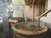 【家族風呂:夕映え】露店風呂付きで夕焼けが楽しめます。※温泉ではございません