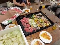 BBQ食事