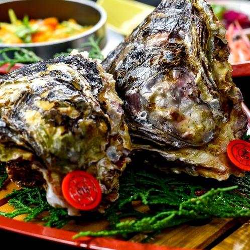 畔蛸の岩牡蠣