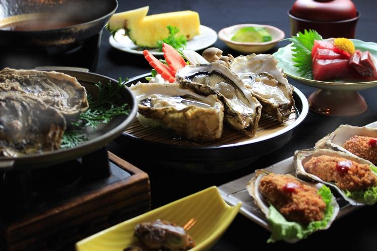 牡蠣ランチ