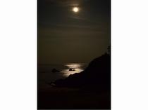 千鳥ヶ浜の夜