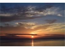 千鳥ヶ浜の夕景②
