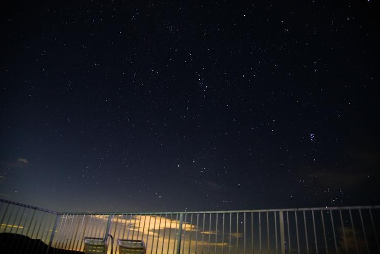 満天の星空観察