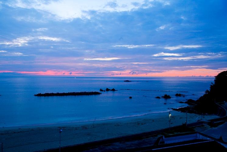 千鳥ヶ浜の眺め