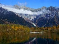 三段紅葉上高地大正池