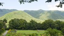 *【当館テラスからの眺め】咲き誇る高原の花々や時と共に表情を変える山々の景色をお楽しみください。