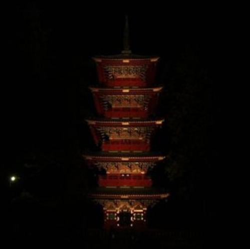 東照宮五重塔