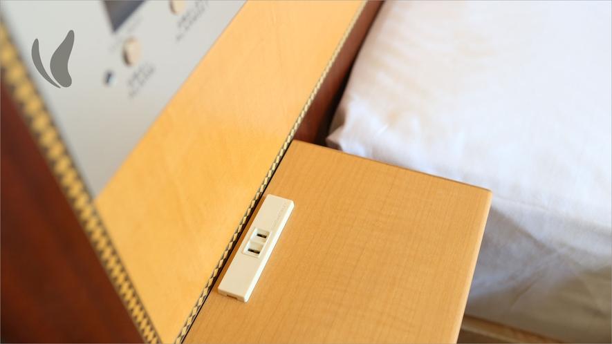 客室ベッド(シングル・セミダブル)