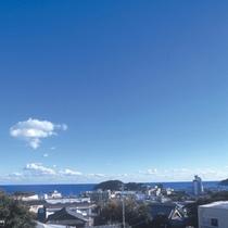 屋上からの青空