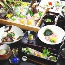 伊勢志摩のお料理集合