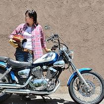 楽天写真バイク女将
